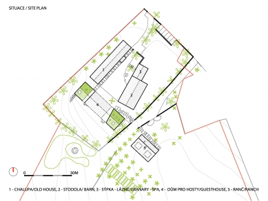 Usedlost Maneschowitz - Situace - současný stav