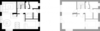 Rekonstrukce rodinného domu v Rudné - 1. NP