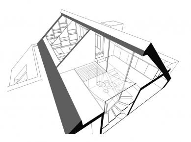 Rekonstrukce rodinného domu v Rudné - Schema