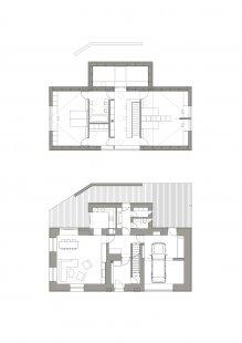 Rodinný dům Žďárský  - Půdorysy - foto: under-construction architects
