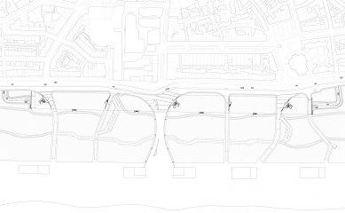 Underground Parking Katwijk aan Zee - Situace - foto: OKRA Landschapsarchitecten