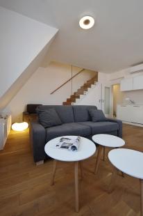 Interiér luxusního bytu, Praha - foto: Jiří Ernest