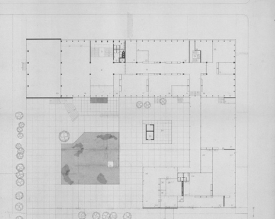 Rietveldova umělecká akademie - Situace