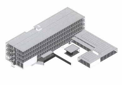 Rietveldova umělecká akademie - Axonometrie