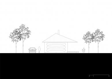 VOJ - The Lake House - Západní pohled - foto: JRKVC