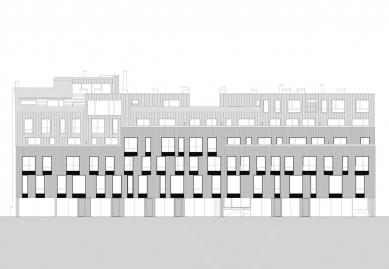 DUN - Bytový dom na Dunajskej  - Půčelí do ulice - foto: GutGut