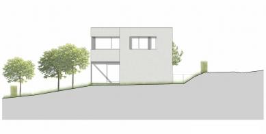 Dvougenerační rodinný dům, Ostrava-Petřkovice - Pohled východní