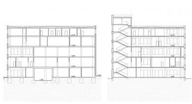 Verona offices -  refurbishment - Řezy