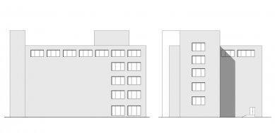 Verona offices -  refurbishment - Pohledy západní a severní