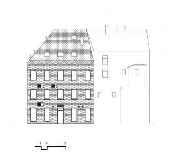 Centrum Vlasty Buriana - Pohled B - foto: Šťastný Pavel Architekt