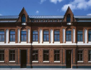 Rekonstrukce Administrativy a Strojírny v areálu Vaňkovka