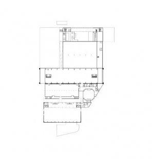 Přestavba a přístavba veletrhů v Innsbrucku - Půdorys 1.np - foto: Cukrowicz Nachbaur Architekten