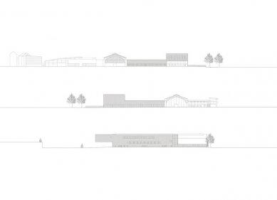 Přestavba a přístavba veletrhů v Innsbrucku - Pohled na evokaci dobového pokoje - foto: Cukrowicz Nachbaur Architekten