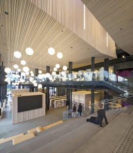 Kulturní centrum města Stjørdal - foto: Søren Harder Nielsen