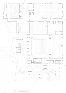 Kulturní centrum města Stjørdal - 1. NP / groundfloor