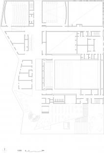 Kulturní centrum města Stjørdal - 2. NP / first floor