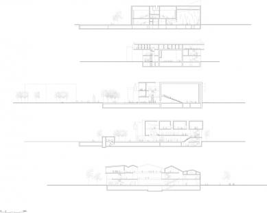 Kulturní centrum města Stjørdal - řezy / sections