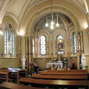 Úprava klášterní kaple - Fotografie původního stavu