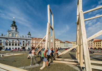 Vnímání - Z průbehu realizace - foto: Tomáš Malý