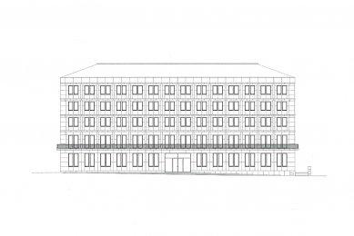Head Office of Saxony and Thuringia - Čelní pohled - foto: Kollhoff Timmermann Architekten