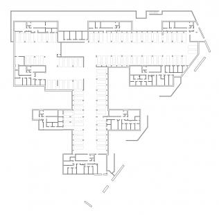 Bytový soubor Triangle - Půdorys 1PP