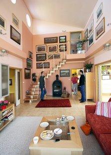 Úprava interiéru s vloženou pracovnou - Fotografie původního stavu - foto: archiv autorů