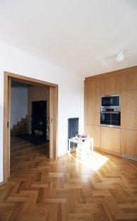 Úprava interiéru s vloženou pracovnou - foto: Prokš Přikryl architekti