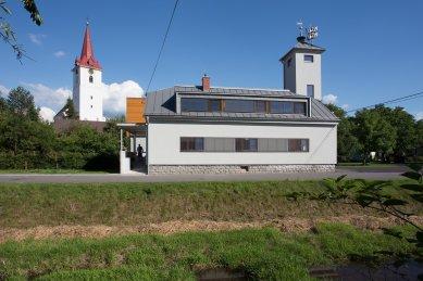 Hasičská zbrojnice v Palkovicích - foto: Studio Toast