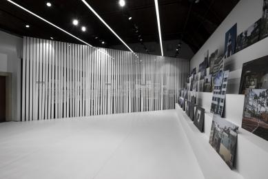 Instalace výstavy 40 let FA ČVUT - foto: AI photography, Aulík Fišer architekti