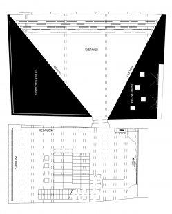 Instalace výstavy 40 let FA ČVUT - Půdorys