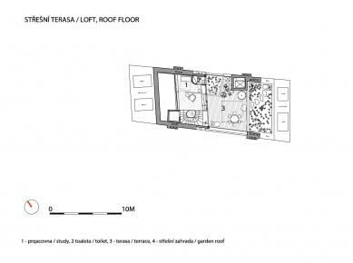 Třípodlažní loft