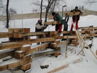 Lesní scéna AmFík - ze stavby... - foto: Michal Fišer