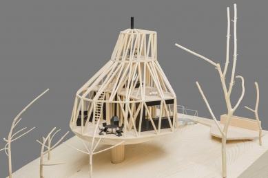 Dům v sadu - Model