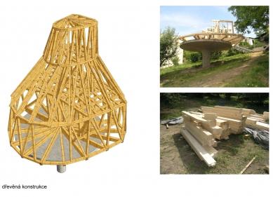 Dům v sadu - Konstrukce