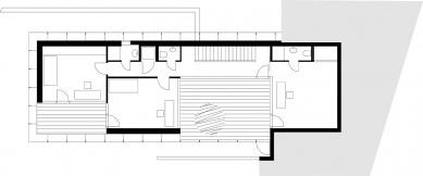 Rodinný dům na Rezkově ulici - 1. NP
