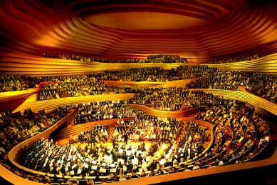 Elbphilharmonie Hamburg - Vizualizace - foto: Herzog & de Meuron