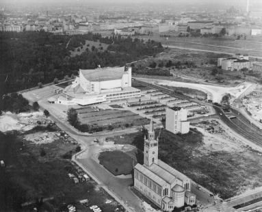 Berlin Philharmonic - Historický letecký snímek