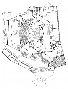 Berlin Philharmonic - Půdorys 1.np
