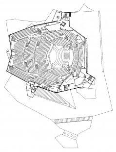 Berlin Philharmonic - Půdorys 3.np