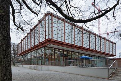 Rekonstrukce a rozšíření pavilonu 20er/21er Haus - foto: Petr Šmídek, 2017