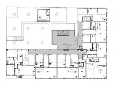 Polyfunkční dům Eucon - 5NP - foto: Fránek Architects
