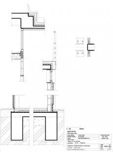Tribuna městského stadionu Černá hora - Detail - foto: © architektonická kancelář Burian - Křivinka