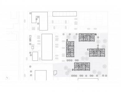 Bytový komplex Nova village - Situace - foto: What architects