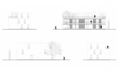 Bytový komplex Nova village - Pohledy - foto: What architects
