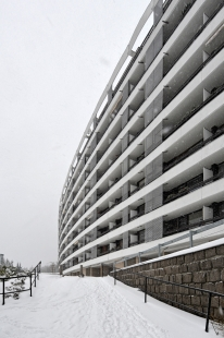 Bytový dům Wolkerova - foto: Petr Šmídek, 2015