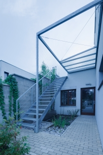Interiér přístavby řadového domu - foto: BoysPlayNice