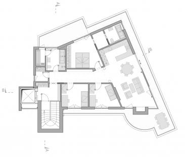 Villa Engel - Půdorys 3NP