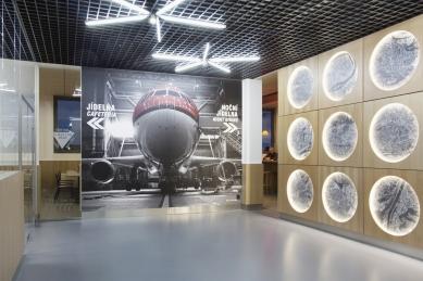 Airport Business Centre - kantýna - foto: Jan Tesárek
