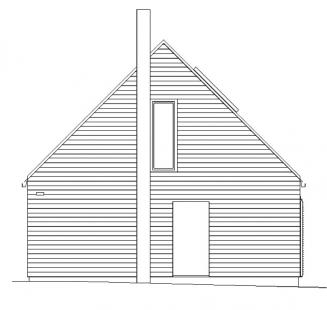 Rodinný dům v Konárovicích - Jihozápadní pohled - foto: © Markéta Cajthamlová, Architektonická projekční kancelář
