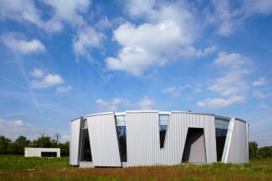 Novostavba nízkoenergetického rodinného domu - foto: Andrea Thiel Lhotáková